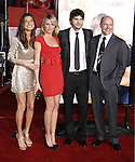 """Actress Lake Bell and actress Cameron Diaz, actor Ashton Kutcher and actor Rob Corddry arrive at the Premiere Of Fox's """"What Happens In Vegas"""" on May 1, 2008 at the Mann Village Theatre in Los Angeles, California."""