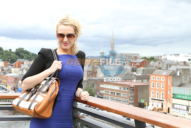 Matchmaker, Avril Mulcahy on her recent visit to the d Hotel....(Photo credit should read Jenny Matthews/NEWSFILE)