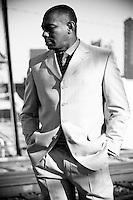 Eric Essix, the legendary jazz musician, in Birmingham, Alabama