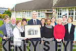 Teachers and staff from Killarney Monastry, who are celebrating the 50th anniversary of the opening of the school, looking at a photograph of the offical opening in 1958 l-r: Mary Brosnan, Michael Molahan, Catherine Barry, Noreen O'Leary, Colm O'Sullibhain Principal, Paule Counihan, Olga Noube, Elizabeth Meehan, Ann Leacy, Michael O'Riordan and Angela Barry   Copyright Kerry's Eye 2008