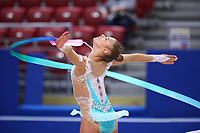 September 8, 2018 - Sofia, Bulgaria - ALEKSANDRA SOLDATOVA of Russia performs during early trainings at 2018 World Championships.