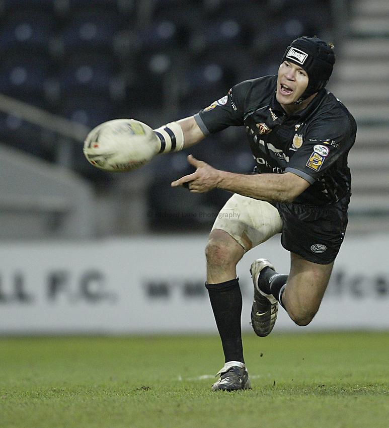 Photo: Aidan Ellis..Hull RL v Les Catalans. Pre Season Friendly. 29/01/2006. .Hull's Richard Swain.