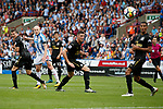 Aaron Mooy of Huddersfield Town scores the winning goal during the premier league match at the John Smith's Stadium, Huddersfield. Picture date 20th August 2017. Picture credit should read: Simon Bellis/Sportimage