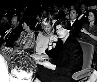 Jean-Claude Lauzon attend the opening of the  (Montreal) World Film Festival on August 21, 1987.<br /> <br /> File Photo : Agence Quebec Presse - Pierre Roussel