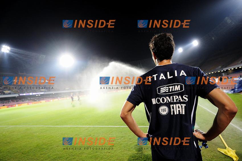 Andrea Ranocchia Italia <br /> Napoli 15-10-2013 Stadio San Paolo <br /> Football Calcio Fifa World Cup 2014 Qualifiers <br /> Europe Group B <br /> Italia - Armenia <br /> Italy - Armenia <br /> Foto Andrea Staccioli Insidefoto