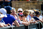 Team GB Supporter. Eventing. Team and individual Horse Inspection before dressage. Day 2. World Equestrian Games. WEG 2018 Tryon. North Carolina. USA. 12/09/2018. ~ MANDATORY Credit Elli Birch/Sportinpictures - NO UNAUTHORISED USE - 07837 394578