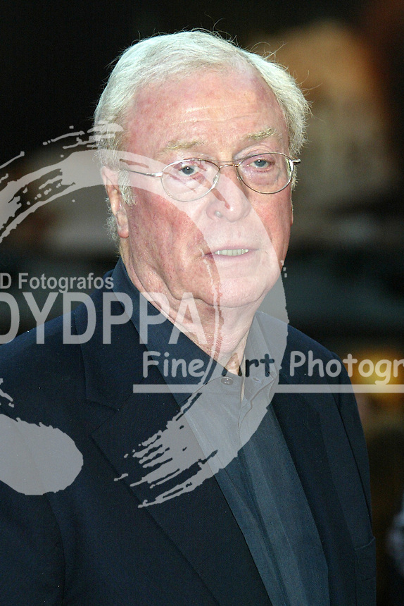 "Actor Sir Michael Caine attends the Germany premiere of ""Batman Begins"" at CineStar am Potsdamer Platz, Berlin"