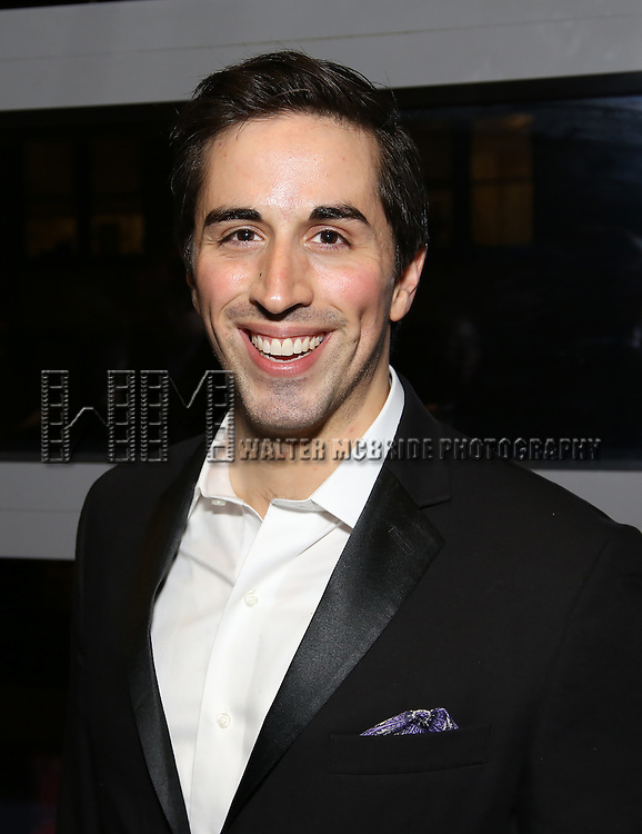 Matthew Scott attends the DGF Reception for Andrew Lippa & Friends at Landmarc on February 1, 2017 in New York City.