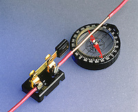 OERSTED EXPERIMENT: COMPASS &amp; WIRE<br />