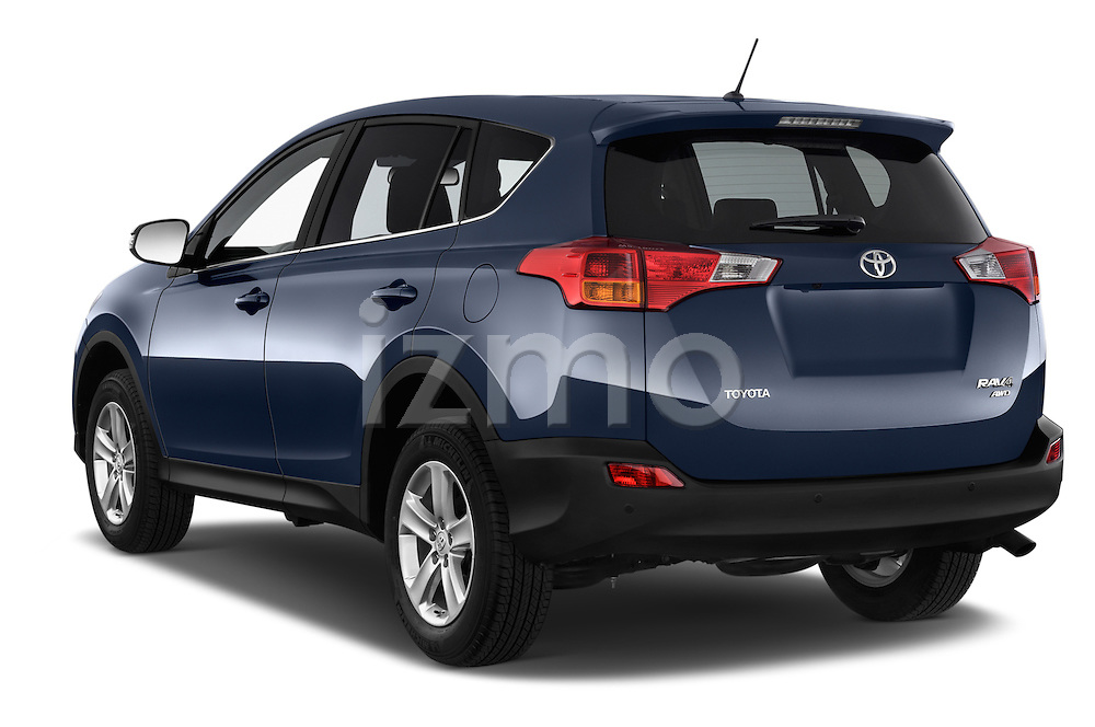Car pictures of rear three quarter view of a 2015 Toyota RAVA4 Lounge 5 Door SUV angular rear