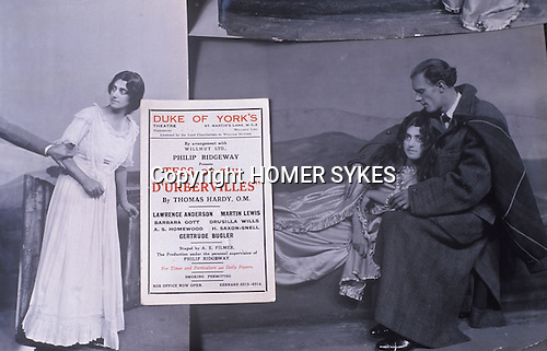 """Gurtrude Bugler as a young actress circa 1924 when she played Tess in """"Tess of the D'Urbervilles"""" at the Duke of Yorks Theatre London. Friend of Thomas Hardy."""