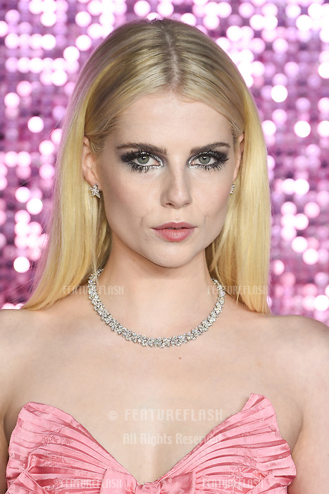LONDON, UK. October 23, 2018: Lucy&nbsp;Boynton at the world premiere of &quot;Bohemian Rhapsody&quot; at Wembley Arena, London.<br /> Picture: Steve Vas/Featureflash