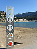 Sign at the beach of Puerto de S&oacute;ller<br /> <br /> Letrero en la playa de Puerto de S&oacute;ller<br /> <br /> Schild am Strand von Puerto de S&oacute;ller<br /> <br /> 2272 x 1704 px<br /> 150 dpi: 38,47 x 28,85 cm<br /> 300 dpi: 19,24 x 14,43 cm