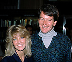 Heather Locklear and Gordon Thompson ( Dynasty ) Promoting the new Dynasty Book at Barnes and Noble in New York City.<br /> November 1, 1984