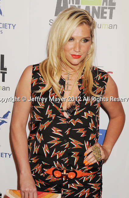 BEVERLY HILLS, CA - MARCH 24: Ke$ha attends the 26th Genesis Awards at The Beverly Hilton Hotel on March 24, 2012 in Beverly Hills, California.