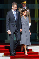 FEB 13 Spanish Royals Depart for Morocco
