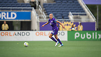 Orlando, FL - Sunday June 26, 2016: Becky Edwards  during a regular season National Women's Soccer League (NWSL) match between the Orlando Pride and the Portland Thorns FC at Camping World Stadium.
