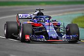 24th March 2018, Melbourne Grand Prix Circuit, Melbourne, Australia; Melbourne Formula One Grand Prix, qualifying; Brendon Hartley of New Zealand driving the (28) Scuderia Toro Rosso STR13 Honda