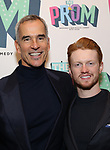 "Jerry Mitchell, Ricky Schroeder Attends the Broadway Opening Night of ""The Prom"" at The Longacre Theatre on November 15, 2018 in New York City."