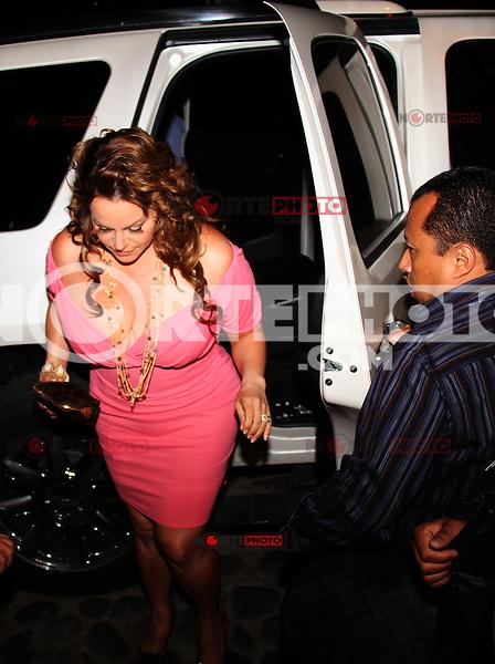 Jenny Rivera el el palenque de la Expogan de Hermosillo Sonora.<br /> (nortephoto@gmail.com )(C.Marquez/NortePhoto)