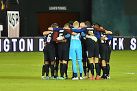 Washington, D.C. - October 11, 2016: The U.S. Men's National team take on New Zealand in an international friendly game at RFK Stadium.