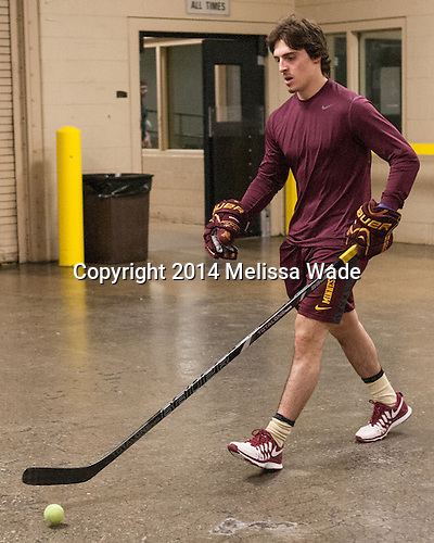 Vinni Lettieri (MN - 19) - The Union College Dutchmen defeated the University of Minnesota Golden Gophers 7-4 to win the 2014 NCAA D1 men's national championship on Saturday, April 12, 2014, at the Wells Fargo Center in Philadelphia, Pennsylvania.