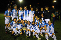 100818 Wellington Schools Football Final - St Pats Silverstream v Wellington College