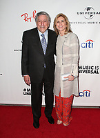 LOS ANGELES, CA - FEBRUARY 10: Tony Bennett, Susan Crow, at theUniversal Music Group Grammy After party celebrating th 61st Annual Grammy Awards at The Row in Los Angeles, California on February 10, 2019. Credit: Faye Sadou/MediaPunch