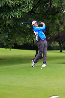 Shane McGlynn (Carton House) on the 3rd tee during round 1 of The Mullingar Scratch Cup in Mullingar Golf Club on Sunday 3rd August 2014.<br /> Picture:  Thos Caffrey / www.golffile.ie