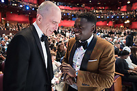 Daniel Day Lewis and Daniel Kaluuya during the live ABC Telecast of The 90th Oscars&reg; at the Dolby&reg; Theatre in Hollywood, CA on Sunday, March 4, 2018.<br /> *Editorial Use Only*<br /> CAP/PLF/AMPAS<br /> Supplied by Capital Pictures