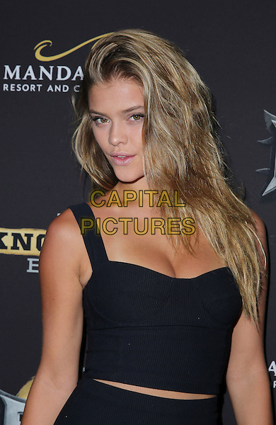 16 August 2014 - Las Vegas, Nevada - Nina Agdal. Big Knockout Boxing Inaugural Event Celebrity Red Carpet at Mandalay Bay Events Center.   <br /> CAP/ADM/MJT<br /> &copy; MJT/AdMedia/Capital Pictures