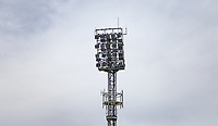 Floodlight ahead of the Premier League match between Crystal Palace and Manchester City at Selhurst Park, London, England on 31 December 2017. Photo by Andy Rowland.