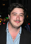 Marcus Mumford attending the Opening Night Performance of the Roundabout Theatre Production of  'If There Is I Haven't Found It Yet' at the Laura Pels Theatre in New York City on 9/20/2012.