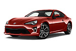 Stock pictures of low aggressive front three quarter view of a 2017 Toyota GT86 Sport 2 Door Coupe