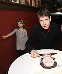 James Barbour with daughter attends his Top Secret portrait unveiling at Sardi's on March 10, 2017 in New York City.