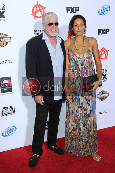 Ron Perlman, Blake Perlman<br />