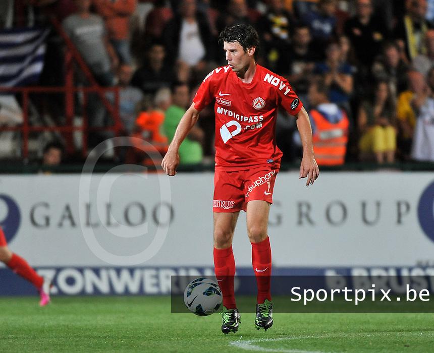 KV Kortrijk - Sporting Lokeren : Stijn De Smet<br /> foto VDB / Bart Vandenbroucke