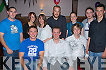 3074-3075..Party - Alex Kovac from Killerisk, seated centre having a great time with friends at his 21st birthday party held in The Abbey Inn on Saturday night............................................................................................................................. ........................   Copyright Kerry's Eye 2008