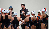 Mar 11, 2015; Claremont, CA, USA; Occidental College Tigers coach John Bonafede (right) and assistant coach Jack Stabenfeldt during the game against the Pomona-Pitzer Sagehens at Pomona-Pitzer. Photo by Kirby Lee