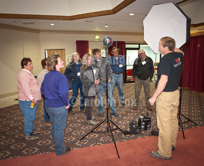 Tom Bol, outdoor adventure photographer presenting Location Lighting workshop at Shooting the West XXIV, WInnemucca, Nevada