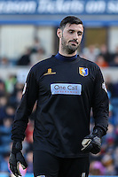 Scott Shearer of Mansfield Town during the Sky Bet League 2 match between Wycombe Wanderers and Mansfield Town at Adams Park, High Wycombe, England on 25 March 2016. Photo by David Horn.