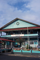 The Hotel Bahia in the town of Bocas del Toro, Isla Colon, Panama