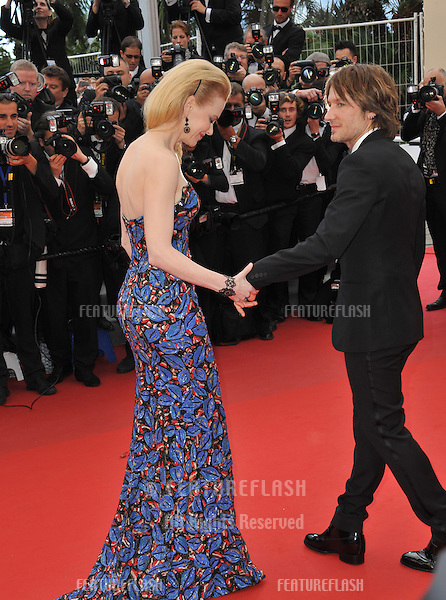 "Nicole Kidman & husband Keith Urban at the gala screening for ""Inside Llewyn Devis"" in competition at the 66th Festival de Cannes..May 19, 2013  Cannes, France.Picture: Paul Smith / Featureflash"