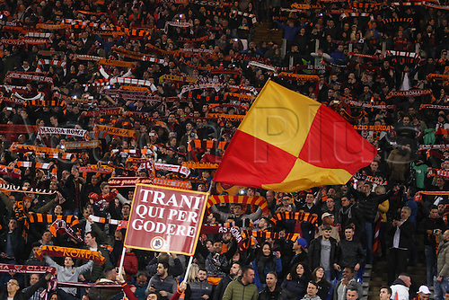 19.03.2016. Stadium Olimpico, Rome, Italy.  Serie A football league. AS Roma versus Inter Milan. Fans of Roma