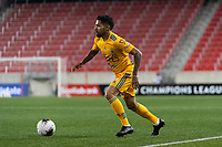 HARRISON, NJ - MARCH 11: Javier Aquino #20 of Tigres UANL during a game between Tigres UANL and NYCFC at Red Bull Arena on March 11, 2020 in Harrison, New Jersey.
