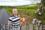 Maurice Brosnan who was one of the first on the scene of the fatal accident outside Scartaglin on Sunday night.