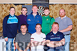 The Tatler Jack team that played the Shire in the Killarney towns league final in the Avenue Hotel on Saturday night front row l-r: Ger Flynn, Lee O'Callaghan, John Paul O'Callaghan. Back row: Philip O'Connor, Michael Cotter, Jim Morris, Jason O'Sullivan, Eric McSweeney