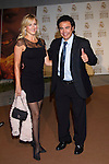 MADRID (04/11/2010).- Real Madrid Foundation held  its annual gala, Alma Awards 2010. Hugo Sanchez  and wife...Photo: Cesar Cebolla / ALFAQUI