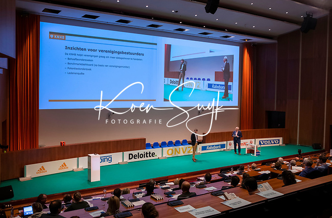 UTRECHT - Nationaal Hockey Congres van de KNHB, COPYRIGHT KOEN SUYK
