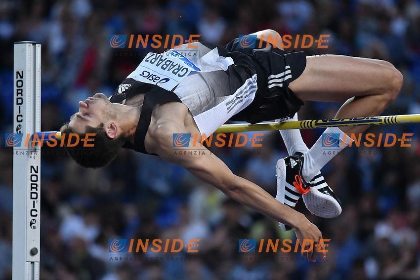 Robbie GRABARZ GBR High Jump <br /> Roma 02-06-2016 Stadio Olimpico <br /> IAAF Diamond League Golden Gala <br /> Atletica Leggera<br /> Foto Andrea Staccioli / Insidefoto